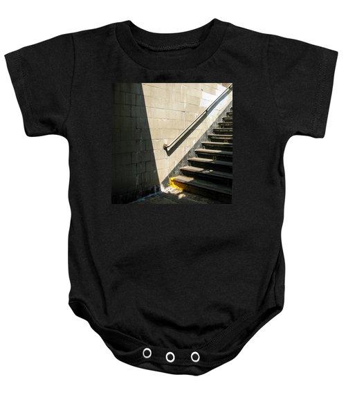 Subway Stairs Baby Onesie