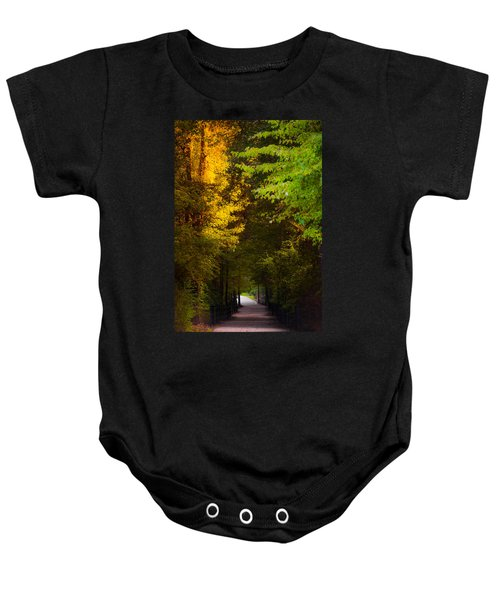 Summer And Fall Collide Baby Onesie