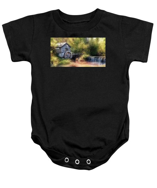 Summer At The Mill Baby Onesie