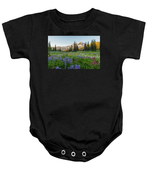 Summer Beauty At Indian Henry's Hunting Ground Baby Onesie