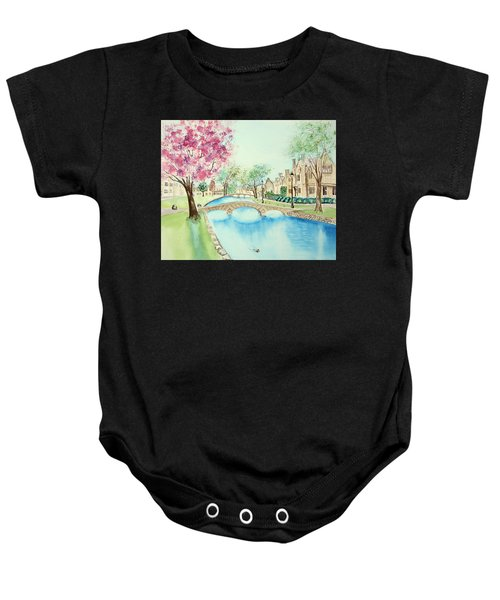 Summer In Bourton Baby Onesie