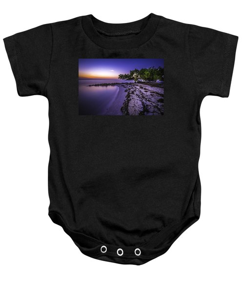 End Of The Beach Baby Onesie