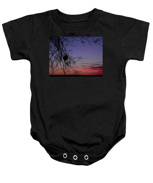 Sunrise On The Colorado Plains Baby Onesie