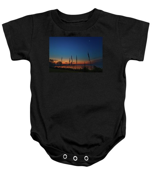 Sunrise On The Neuse 1 Baby Onesie