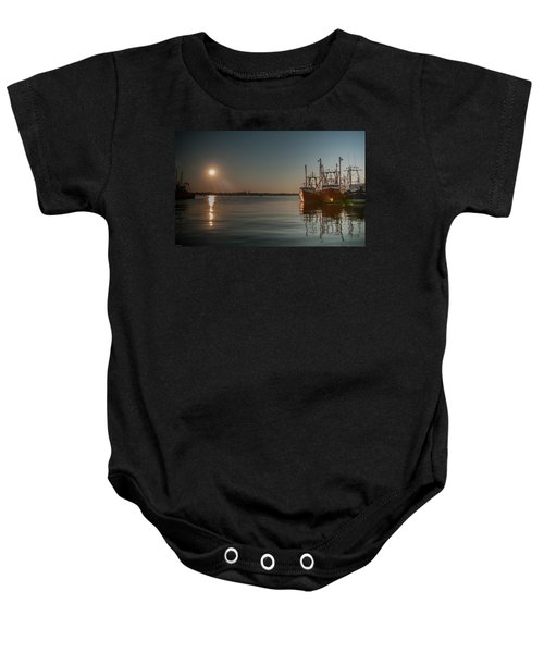 Sunrise Over New Bedford, Baby Onesie