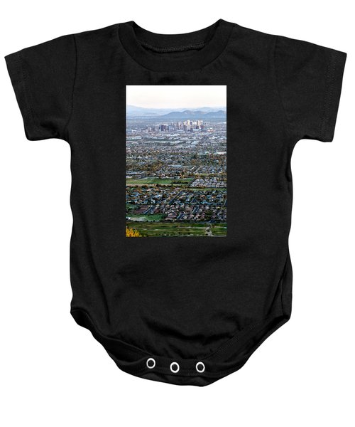 Sunrise Over Phoenix Arizona Baby Onesie