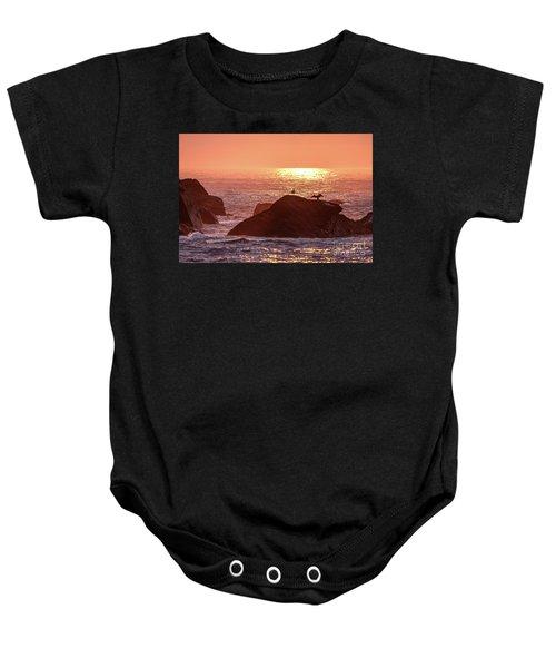 Sunrise, South Shore Baby Onesie