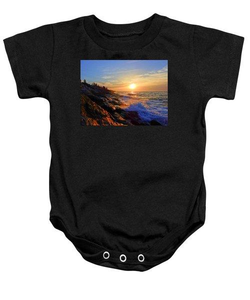 Sunrise Surf Baby Onesie