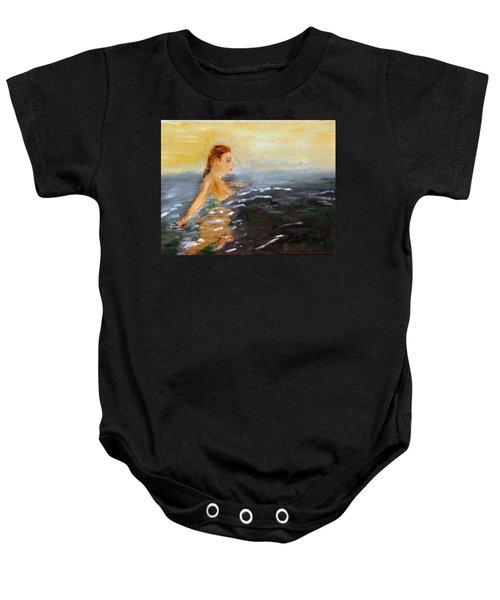 Sunrise Swim Baby Onesie