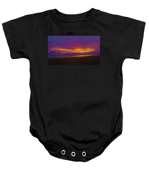 Sunset #3 Baby Onesie