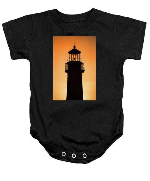 Sunset At Lighthouse Baby Onesie