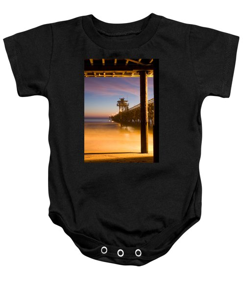 Sunset At San Clemente Baby Onesie
