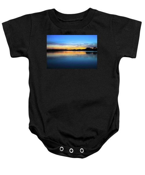 Sunset At Stumpy Lake Virginia Beach Baby Onesie