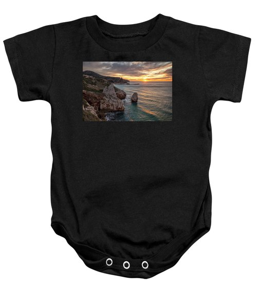 Sunset At The Nest Of The Eagle Baby Onesie