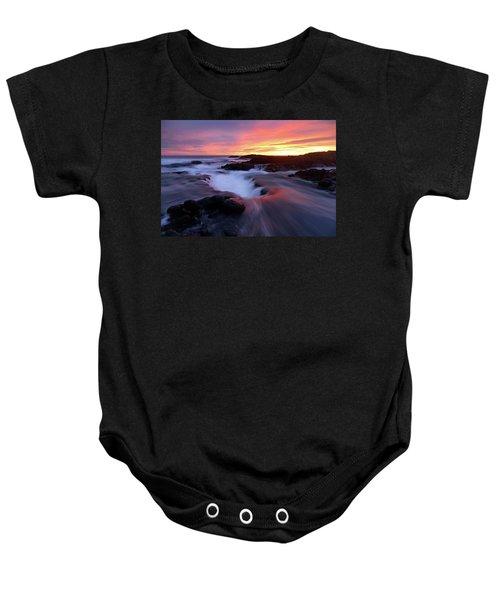 Sunset Glow Baby Onesie