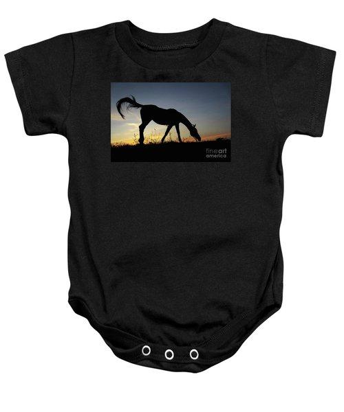 Sunset Horse Baby Onesie