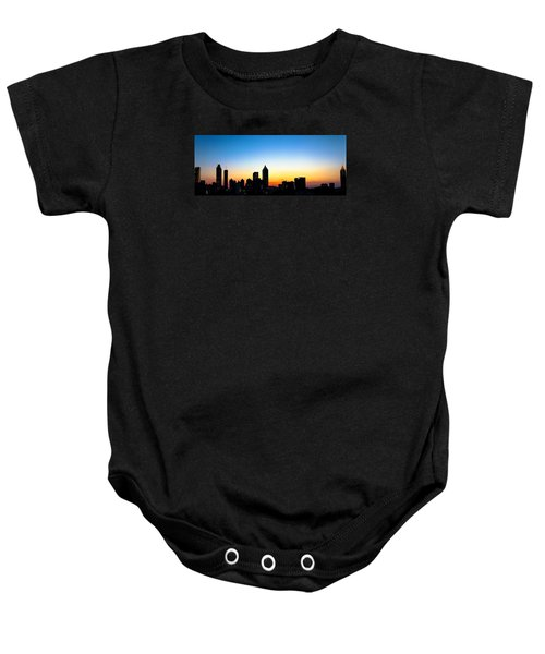 Sunset In Atlaanta Baby Onesie