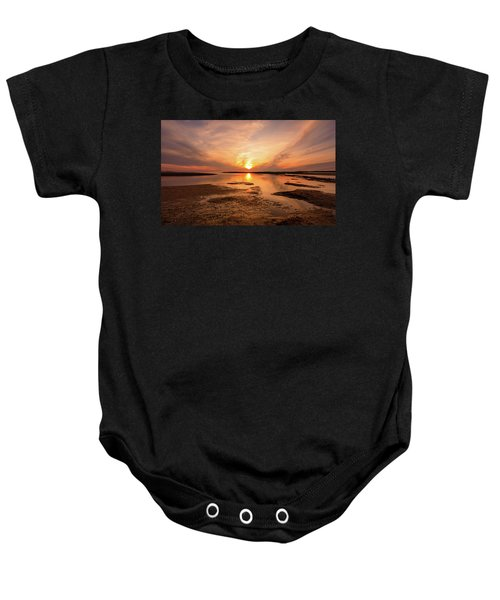 Sunset On The Cape Baby Onesie