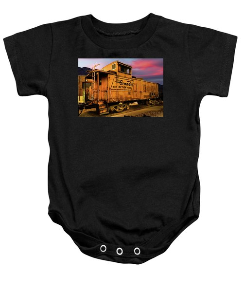 Sunset On The Rio Grande Baby Onesie