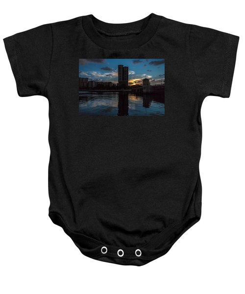 Sunset On The Water Baby Onesie