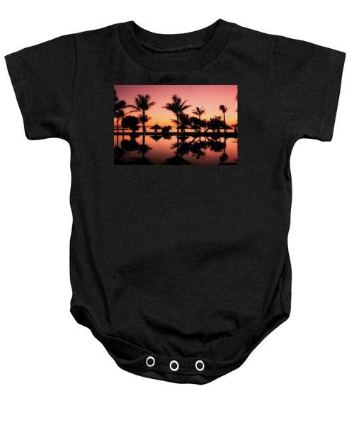 Sunset Over Bali Baby Onesie