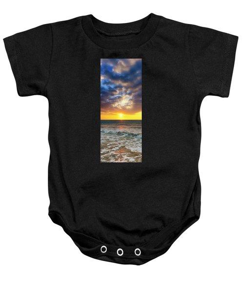 Sunset Panorama Baby Onesie