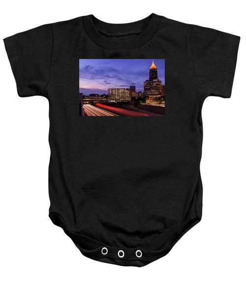 Sunset Rush Baby Onesie