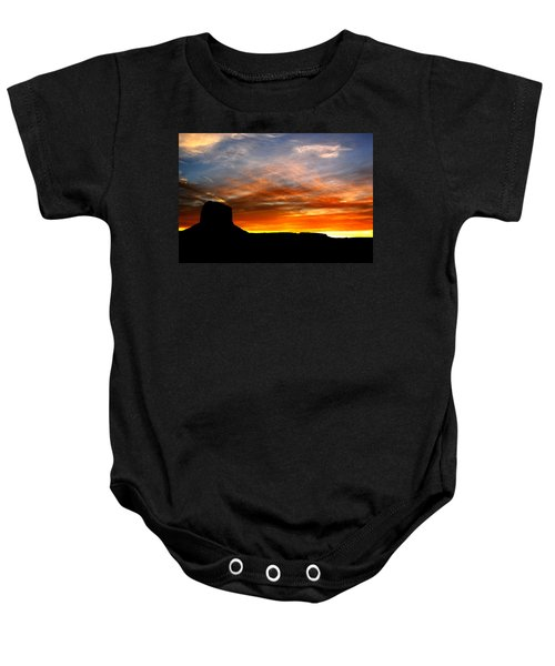 Sunset Sky Baby Onesie