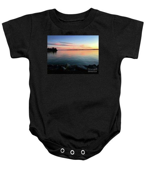 Sunset Sky Baby Onesie