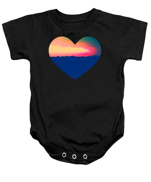 Sunshine In My Heart Baby Onesie
