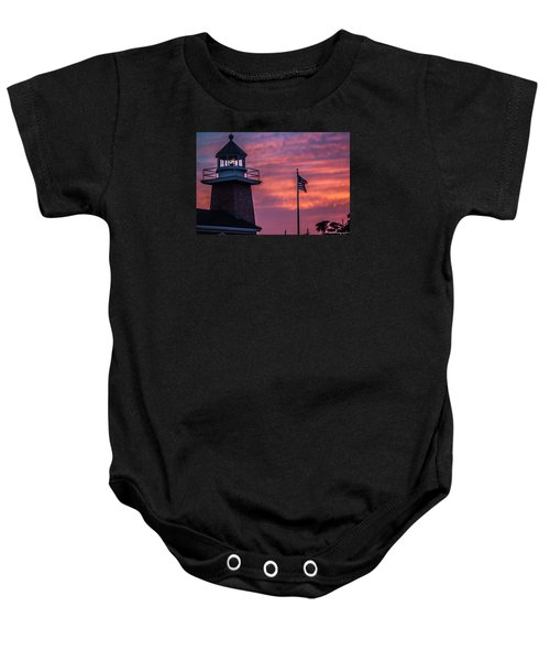 Surfing Museum Full Color  Baby Onesie
