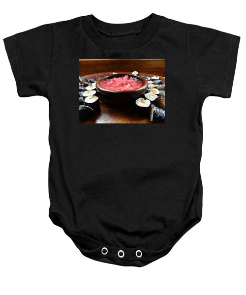 sushi Africa style Baby Onesie