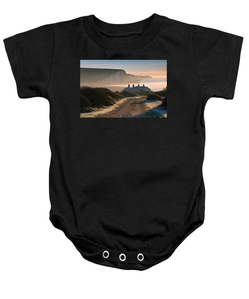 Sussex Coast Guard Cottages Baby Onesie