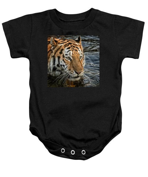 Swimming Tiger Baby Onesie