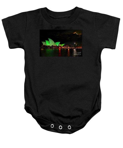 Sydney Opera House Vivid Festival Australia Baby Onesie