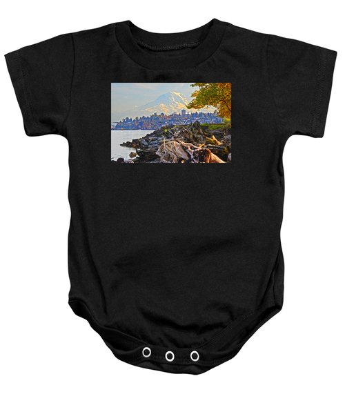 Tacoma In The Fall Baby Onesie