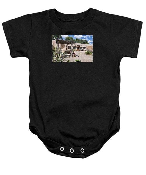 Taos Adobe Complex Baby Onesie
