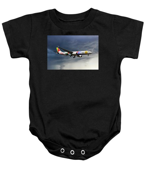Tap Portugal Airbus A330-343 Baby Onesie