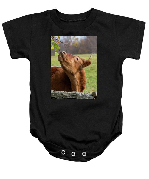Baby Onesie featuring the photograph Tasty by Bill Wakeley