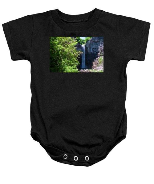 Taughannock Falls 0466 Baby Onesie