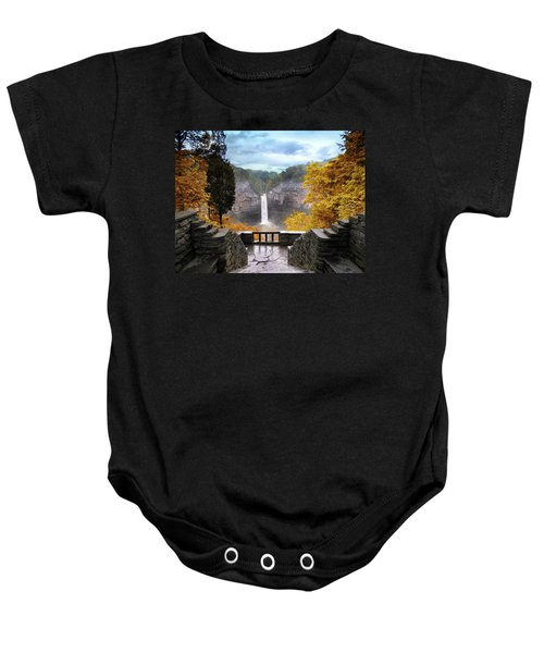Taughannock In Autumn Baby Onesie