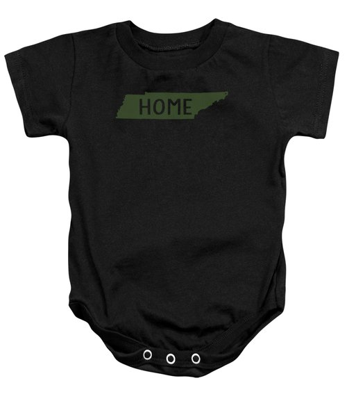 Tennessee Home Green Baby Onesie