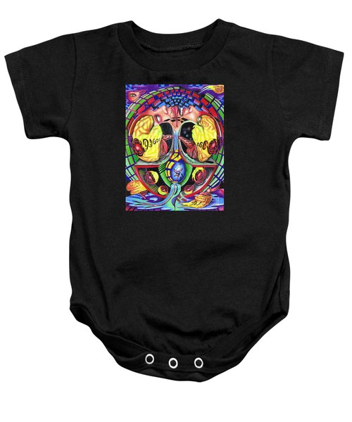 The Abduction Of A Foreign Mind Baby Onesie