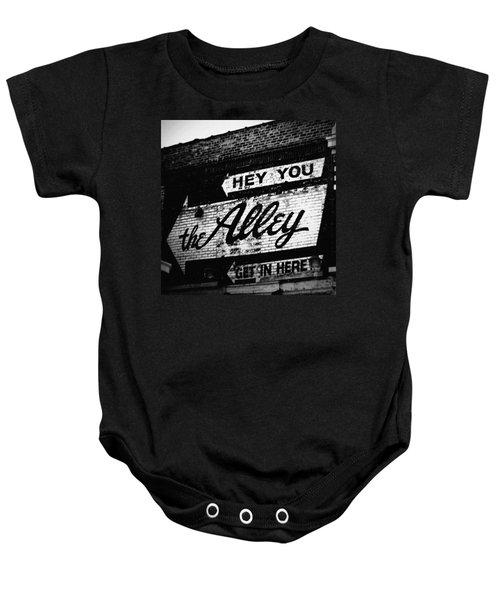 The Alley Chicago Baby Onesie