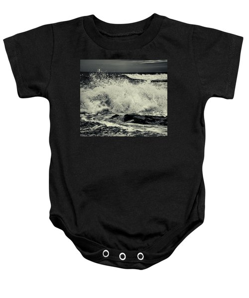 The Angry Sea Baby Onesie