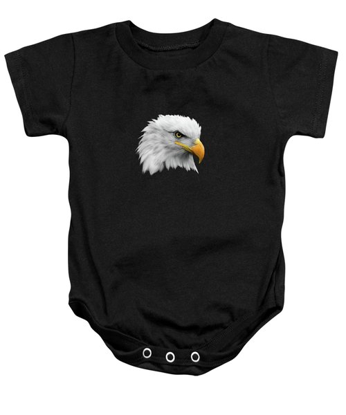 The Bald Eagle Baby Onesie by Mark Rogan
