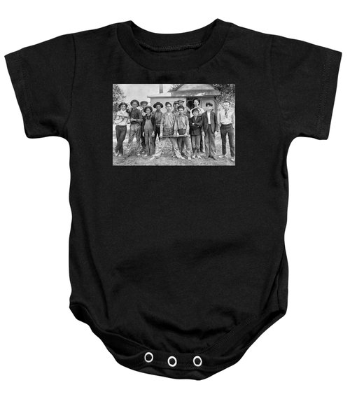 The Ball Team Baby Onesie