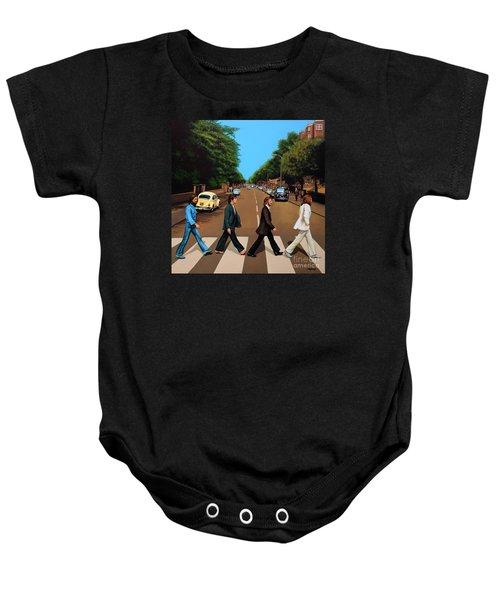 The Beatles Abbey Road Baby Onesie