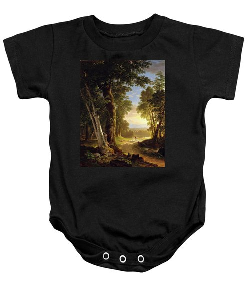 The Beeches By Asher Brown Durand Baby Onesie
