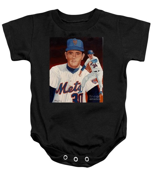 From The Mets To The Rangers Baby Onesie